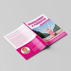 Beweglichkeit und Prävention im Garde und Showtanzsport - Hover
